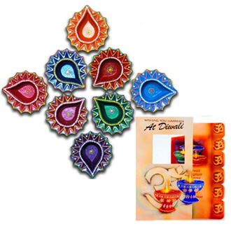Colourful Diyas
