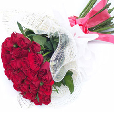 valentine's day 20 red roses delivery to belgaum