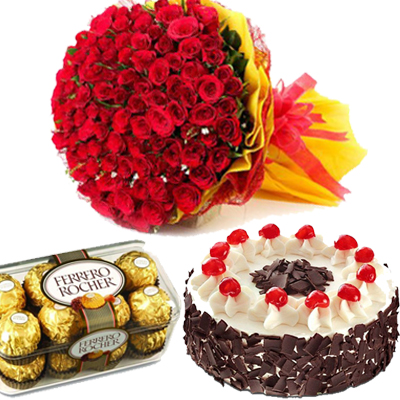 valentine's day chocolate gift hampers