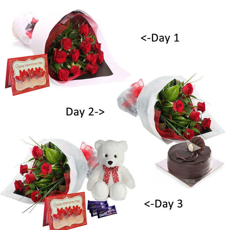 send valentine's day gifthamper to belgaum on midnight