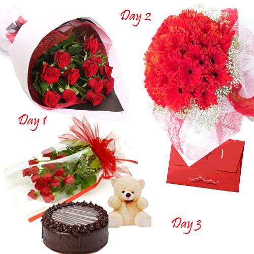 buy valentine's day hamper to belgaum on midnight